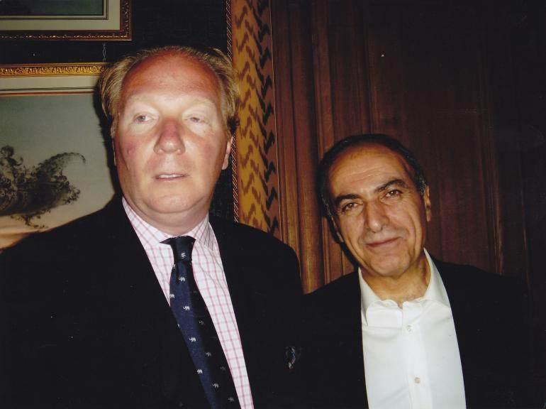 Brice Hortefeux et Ziad Takieddine, en 2005