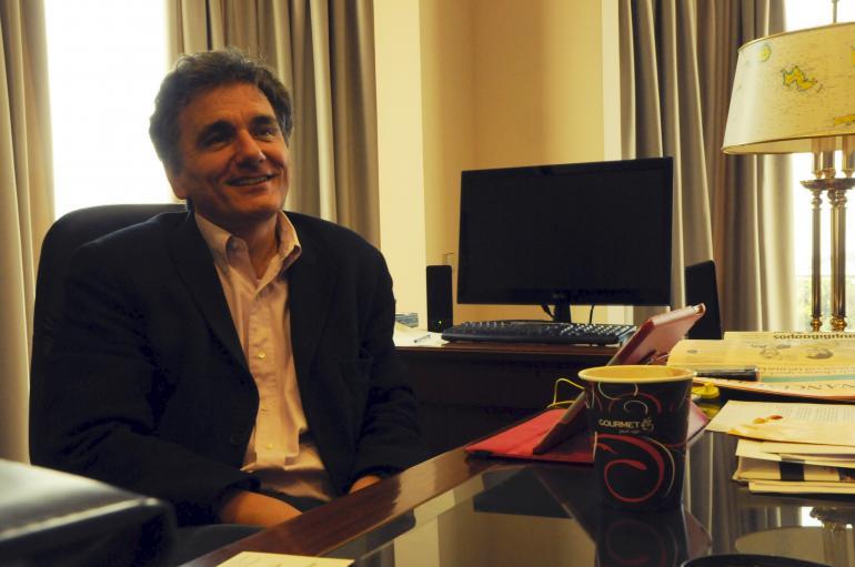 Euclide Tsakalotos, ministre délégué aux relations économiques internationales