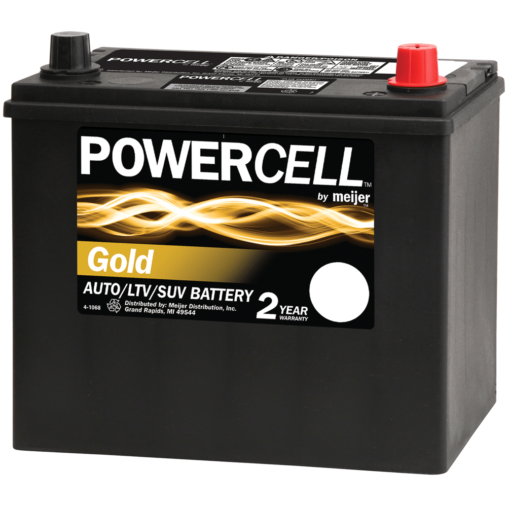medium resolution of powercell 51r 2 12 volt gold automotive battery