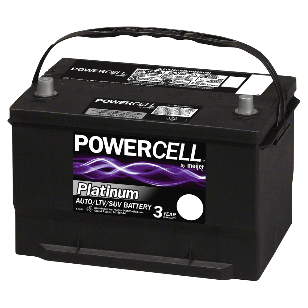 medium resolution of powercell 65s 12 volt platinum automotive battery