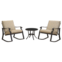 low back lawn chair 9 work bench outdoor living meijer com patio sets
