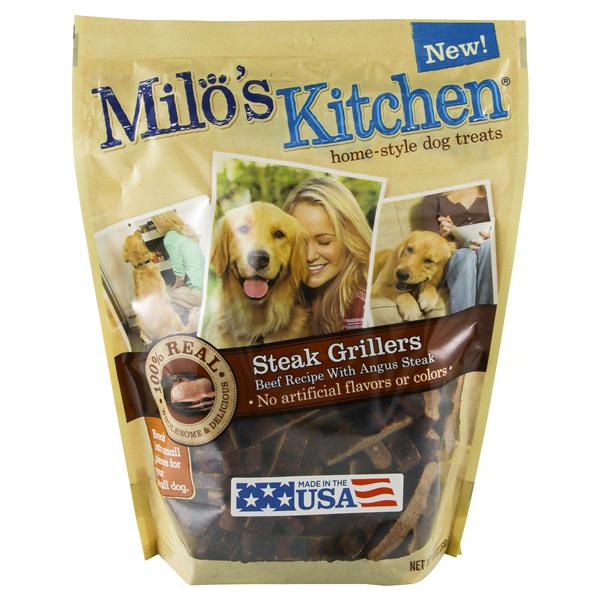 milos kitchen tall bin steak grillers dog snack 18 oz meijer com