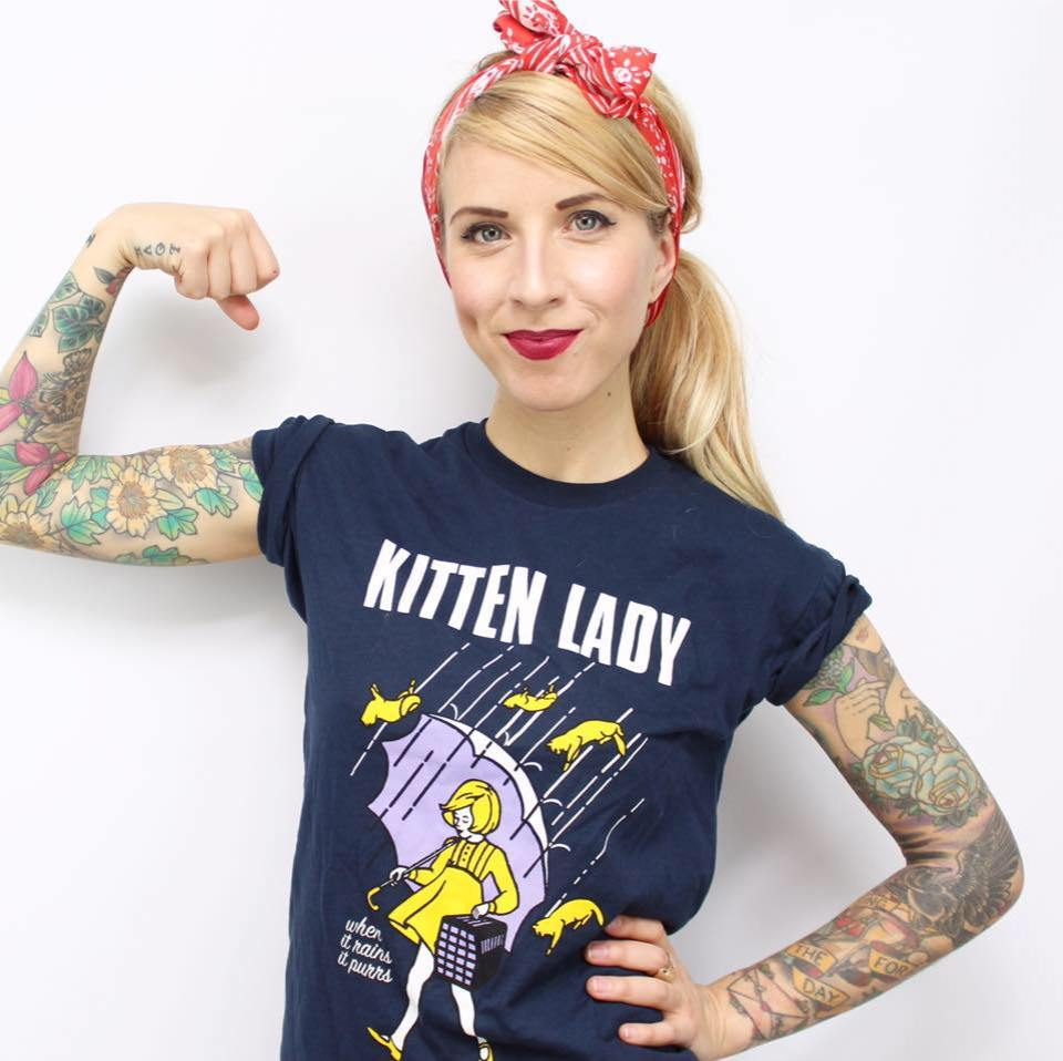 Kitten Lady: the Cat Lady of Today