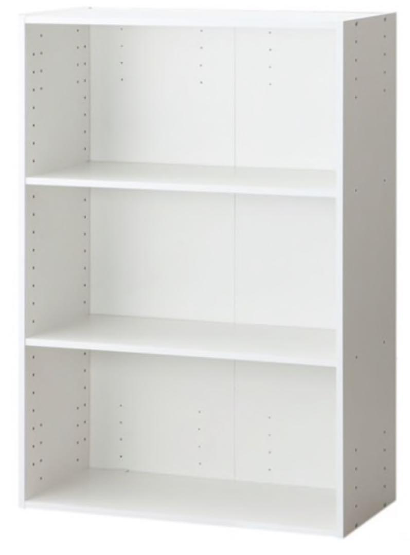 メルカリ - ニトリ カラーボックス3段 ホワイト 【本収納】 (¥1,750