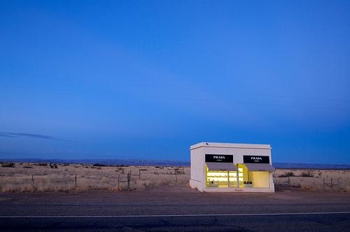 The Prada store that got Lost in the Desert