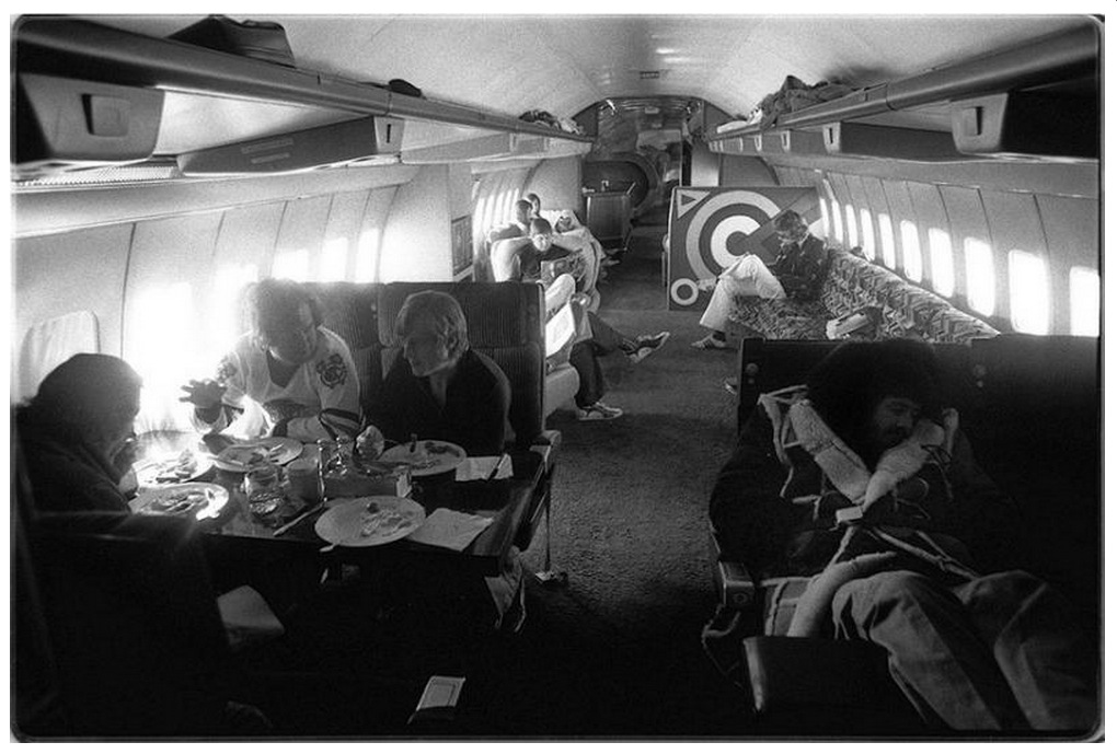Im with the Band and their Private Jet