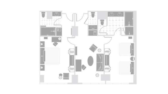 Two Bedroom Suite Delano Las Vegas. Two Bedroom Las Vegas Suites   Bedroom Style Ideas
