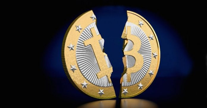 Risultati immagini per crollo bitcoin