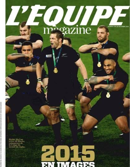 L'Équipe Magazine N° 1745 du samedi 26 décembre 2015