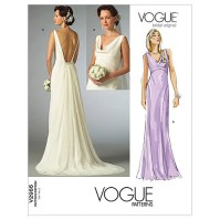 Vogue Ladies Sewing Pattern 2965 Bridal Wedding Dress ...