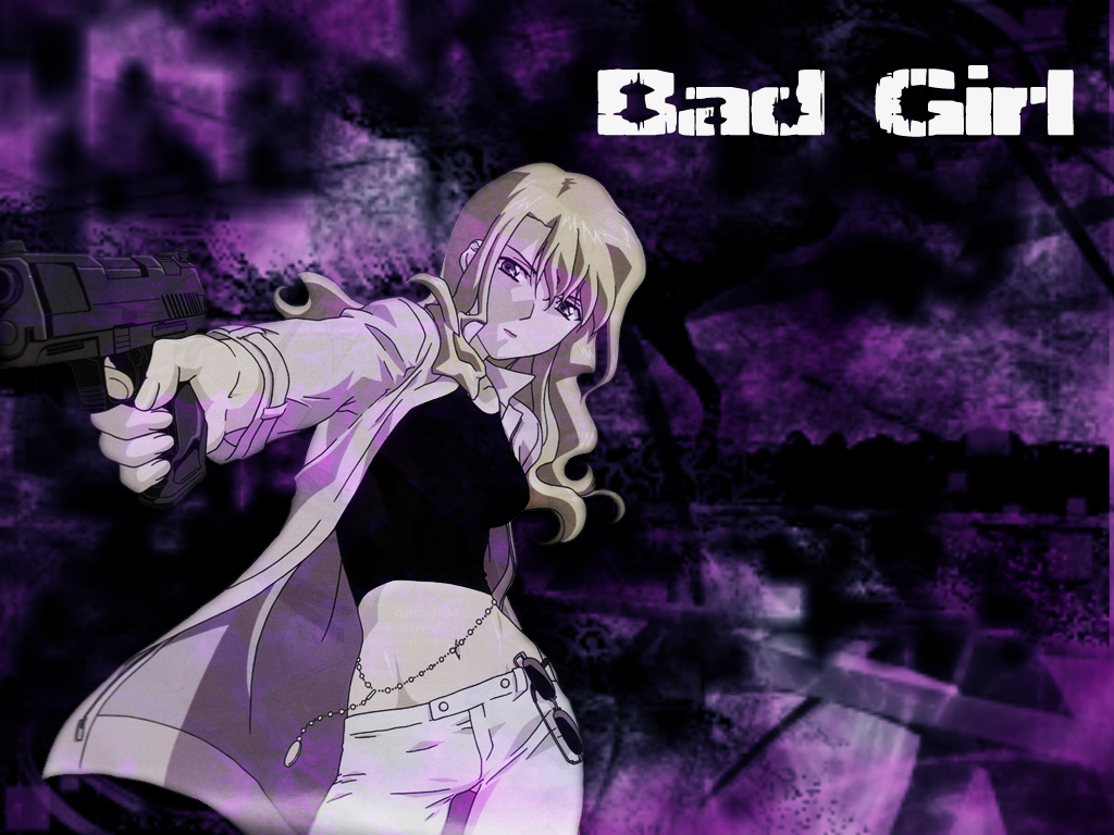 Bad Girl Anime Wallpaper Noir Wallpaper Bad Girl Minitokyo