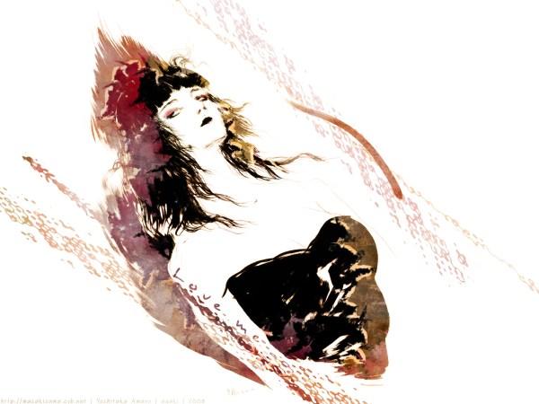Yoshitaka Amano Wallpaper Ya Love - Minitokyo