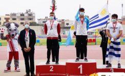 """Atletismo   Lautaro Amarilla se consagró campeón sudamericano u-20 en Perú : """"Es un sueño cumplido"""", expresó el posadeño"""
