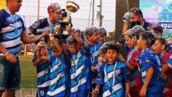 """Fútbol infantil: las """"Águilas Misioneras"""" se lucieron en Entre Ríos"""