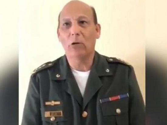 Colonel Venezuela swore Guaido