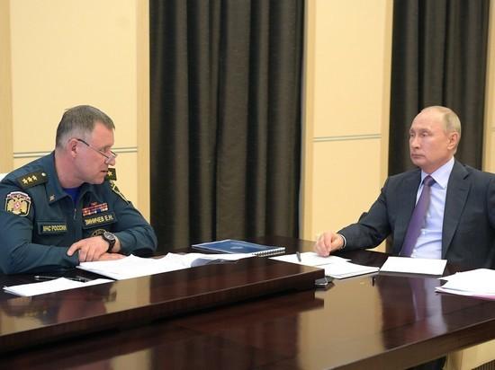 Путин потребовал от регионов стопроцентной готовности к ЧП