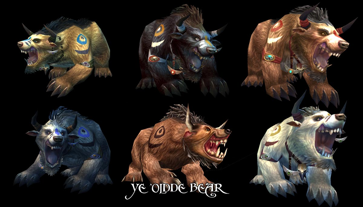 Tauren Bear Form