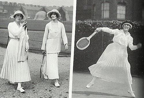 Petit historique de la mode féminine au tennis mode tennis 4