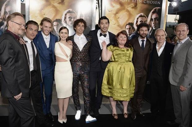 The Mortal Instruments : La Cité des Ténèbres, du livre au film cast