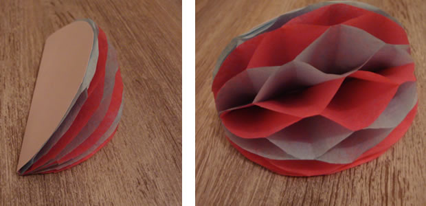 Guirlande En Papier Des Tulipes Crepon