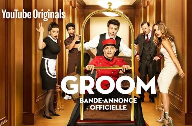 Jérôme Niel joue un Groom insup dans une série YouTube !