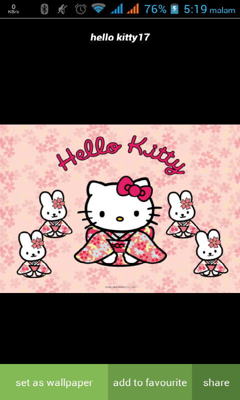 Bbm Hello Kitty Pink : hello, kitty, Alcatel, Touch, Hello, Kitty, Wallpaper, Software, Download