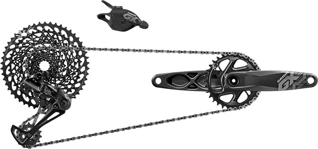 SRAM GX Eagle Groupset: 175mm 32 Tooth GXP Boost Crank