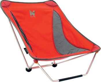 alite monarch chair parts wheelchair accessories australia designs mayfly spreckels red modern bike chairs are perfect for the campground low riding convertible features a front foot that provides stability and can be removed