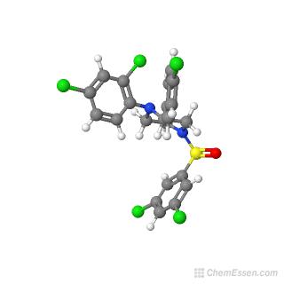 Molecular Weight of 2-(4-chlorophenyl)-4-[(3,5
