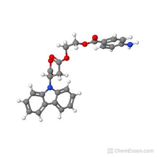 (2S)-4-{2-[(4-aminophenyl)carbonyloxy]ethoxy}-2-(9H