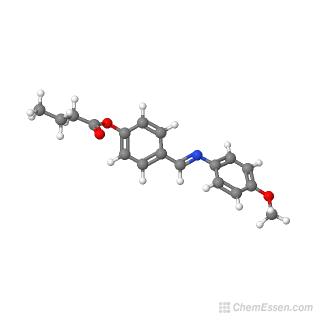 4-[N-(4-methoxyphenyl)carboximidoyl]phenyl butanoate