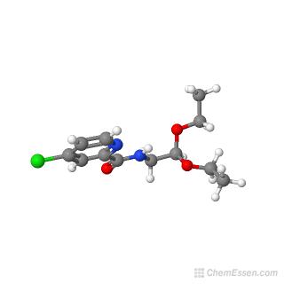 4-chloro-N-(2,2-diethoxyethyl)pyridine-2-carboxamide