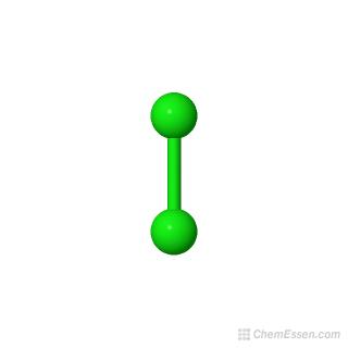 Chlorine Structure - Cl2   Mol-Instincts