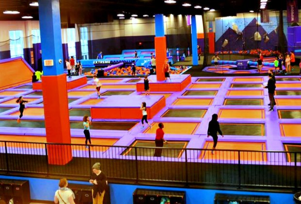 Awesomely Fun Trampoline Parks For Kids Around Boston