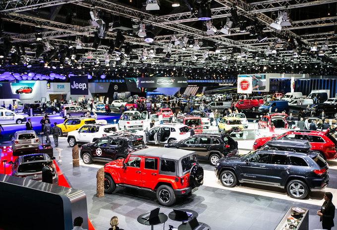 Plan interactif Salon Auto Bruxelles 2016  Moniteur Automobile