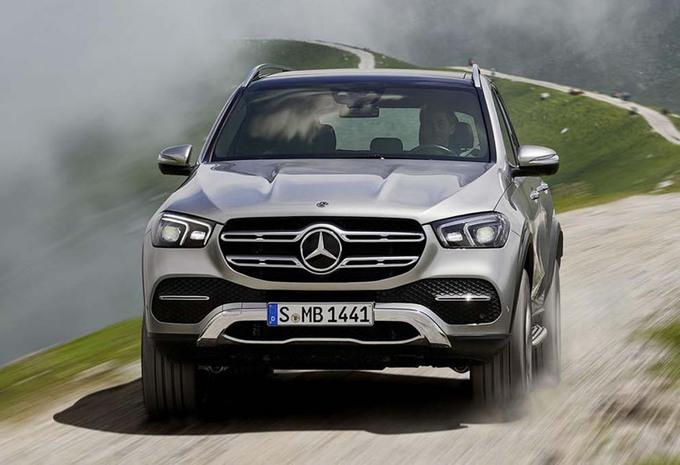 Nieuwe Mercedes GLE Krijgt ABC EQ Boost En MBUX AutoWereld