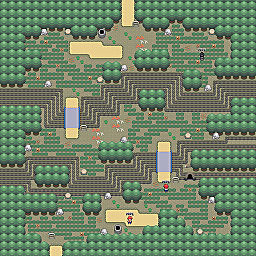 Wyrm Ridge Game Map for Pokemon Online Players Route Order: 439
