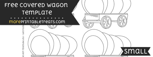Covered Wagon Template
