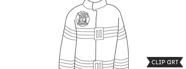 Firefighter Jacket Template