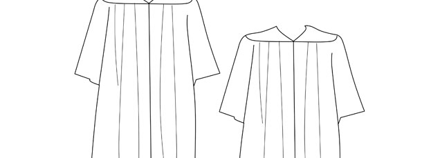 Graduation Gown Template