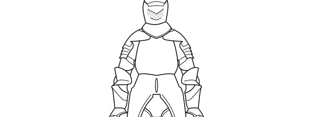 Knights Armor Template