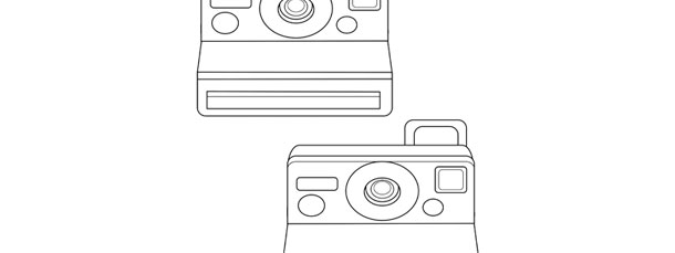 Polaroid Camera Template