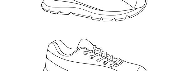 Running Shoe Template
