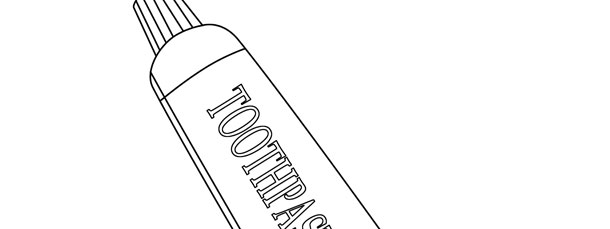 Toothpaste Tube Template