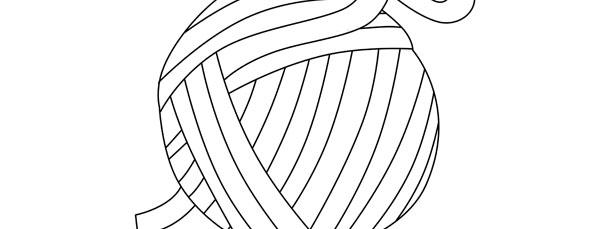 Yarn Ball Template