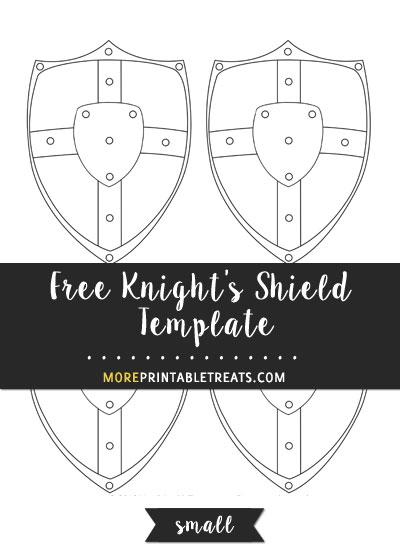 Knight's Shield Template