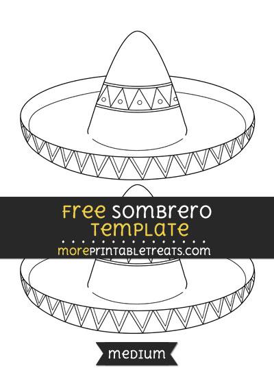 Sombrero Template