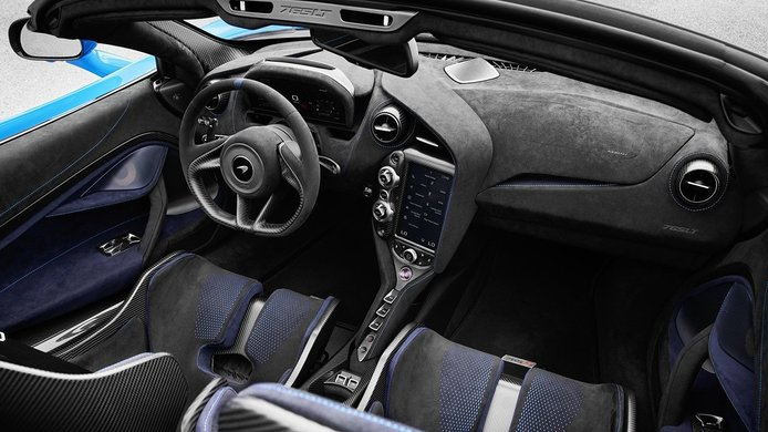 McLaren 765LT Spider - interior