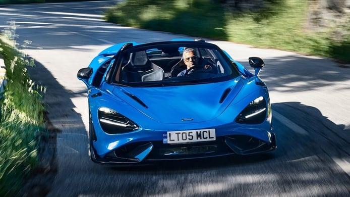 McLaren 765LT Spider - front