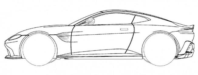Aston Martin Vantage: filtrados los bocetos de patente en